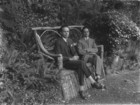 Two men on a rustic seat in Ballynahinch_thumb.jpeg